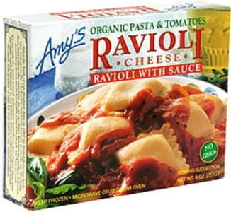 Amy's Cheese Ravioli with Sauce