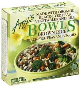 Amys Brown Rice, Black-Eyed Peas & Veggies