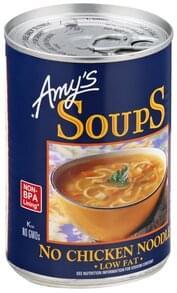 Amys No Chicken Noodle Soup Organic