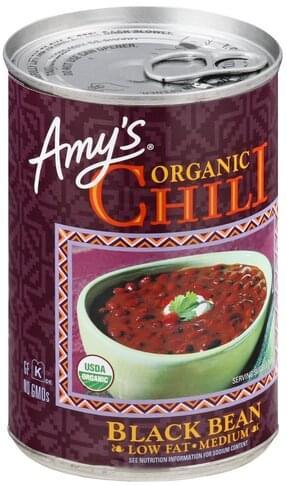 Amys Organic, Chili, Medium Black Bean - 14.7 oz