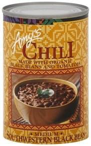Amys Chili Medium, Southwestern Black Bean