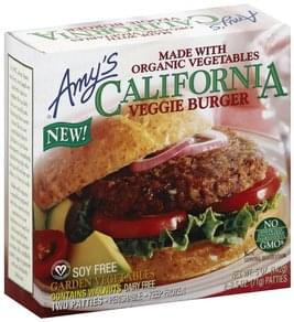 Amys Veggie Burger California