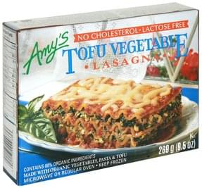Amys Lasagna Tofu Vegetable