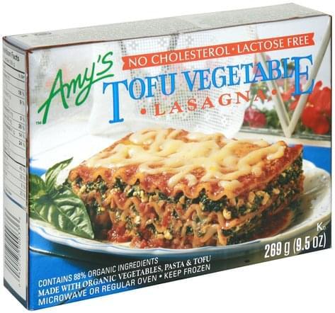 Amys Tofu Vegetable Lasagna - 9.5 oz
