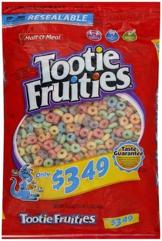 Malt O Meal Tootie Fruities Cereal - 19