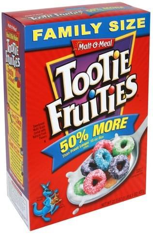 Malt O Meal Tootie Fruities, Family