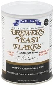 Lewis Labs Brewer's Yeast Flakes