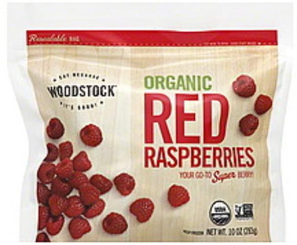 Woodstock Red, Organic Raspberries - 10 oz