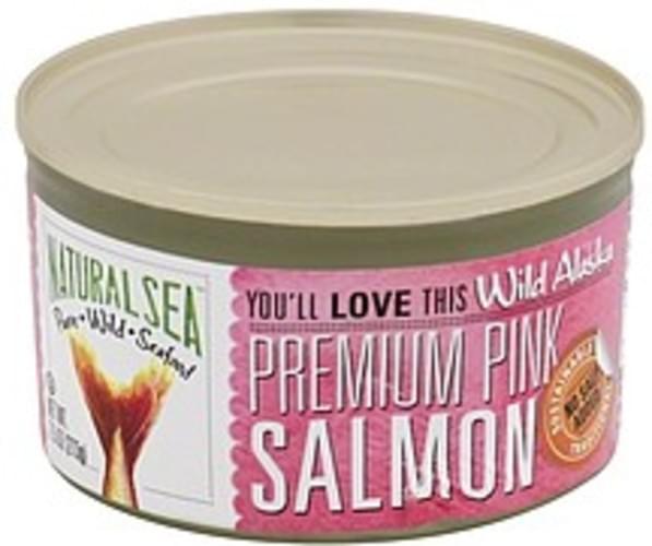 Natural Sea Wild Alaska, Premium, No Salt Added Pink Salmon - 7.5 oz