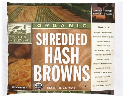 Woodstock Farms Shredded Hash Browns - 16 oz