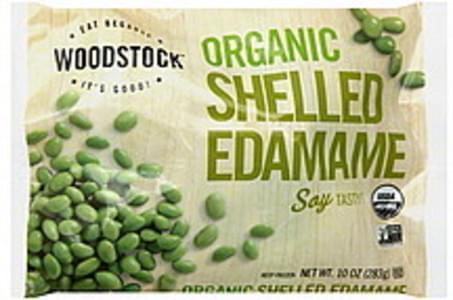 Woodstock Edamame Organic, Shelled