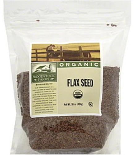 Woodstock Farms Organic Flax Seed - 16 oz