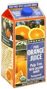 Woodstock Farms Pure Orange Juice Pulp Free with Calcium Added