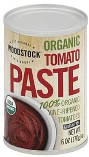 Woodstock Organic Tomato Paste - 6 oz