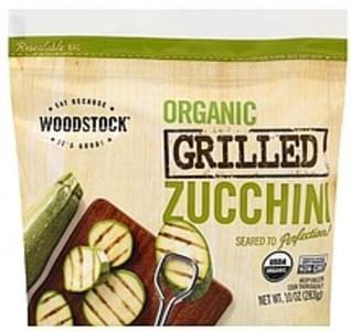 Woodstock Zucchini Organic, Grilled