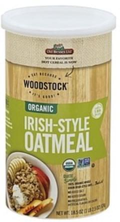 Woodstock Oatmeal Organic, Irish-Style