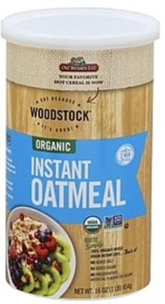 Woodstock Oatmeal Organic, Instant