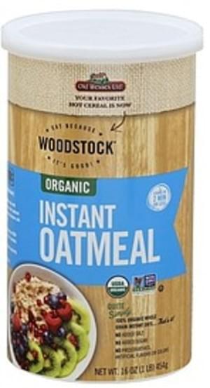Woodstock Organic, Instant Oatmeal - 16 oz