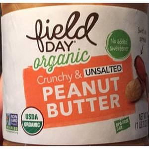 Field Day Peanut Butter Crunchy Unsalted