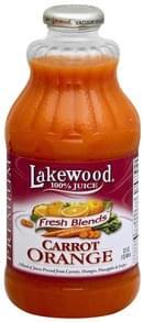 Lakewood 100% Juice Carrot Orange