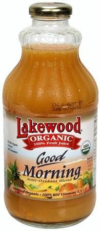 Lakewood Good Morning 100% Fruit Juice - 32 oz