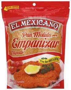 El Mexicano Bread Crumbs Coating Chipotle