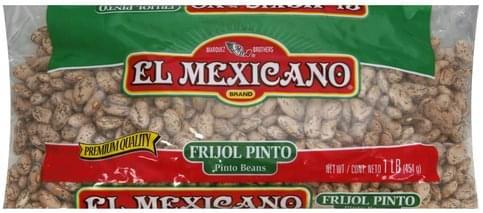 El Mexicano Pinto Beans - 1 lb