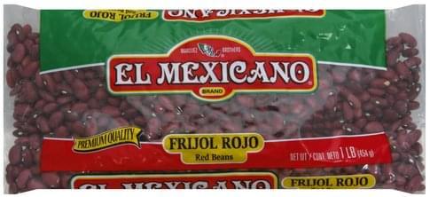 El Mexicano Red Beans - 1 lb