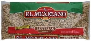 El Mexicano Lentils