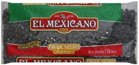 El Mexicano Black Beans - 1 lb