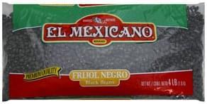 El Mexicano Black Beans