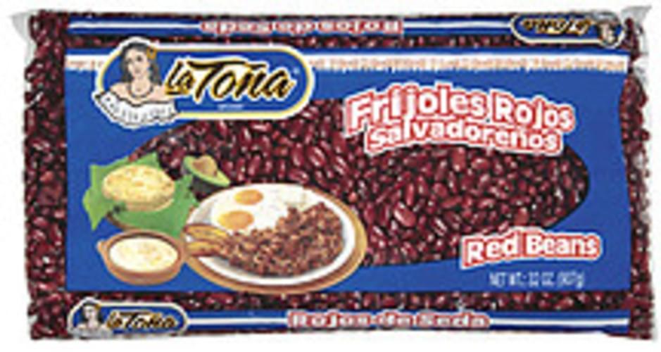 La Tona Red Beans - 32 oz
