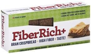 FiberRich Cracker Bran Crispbread + High Fiber