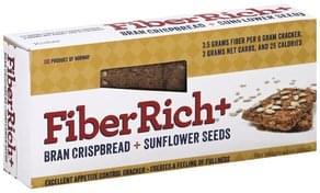 FiberRich Cracker Bran Crispbread + Sunflower Seeds