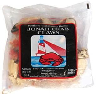 Portland Lighthouse Brand Jonah Crab Claws