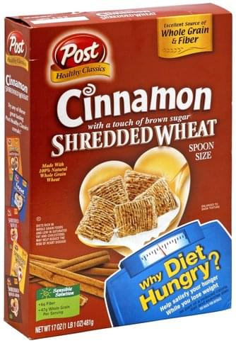 Shredded Wheat Cinnamon with a Touch of