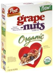 Grape Nuts Cereal Organic