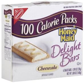 Honey Maid Snack Bars Delight Bars, Cheesecake