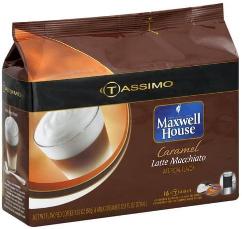Tassimo Caramel Latte Macchiato - 16 ea, Nutrition