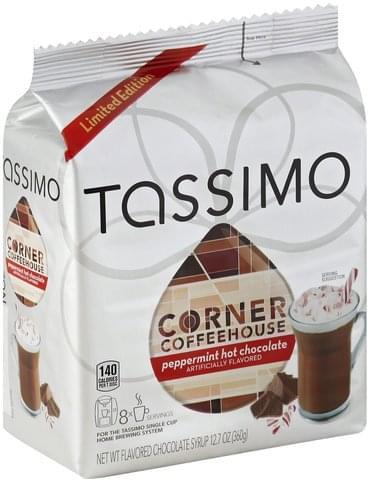 Tassimo Peppermint T Discs Hot Chocolate 8 Ea Nutrition