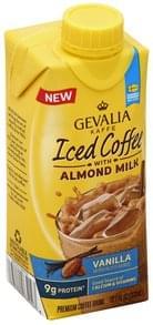 Gevalia Iced Coffee with Almond Milk, Vanilla
