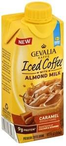 Gevalia Iced Coffee with Almond Milk, Caramel