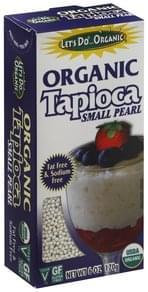 Lets Do Organic Tapioca Small Pearl, Organic