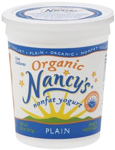 Nancys Nonfat, Organic, Plain Yogurt - 32 oz