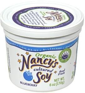 Nancys Organic Cultured Soy Blueberry