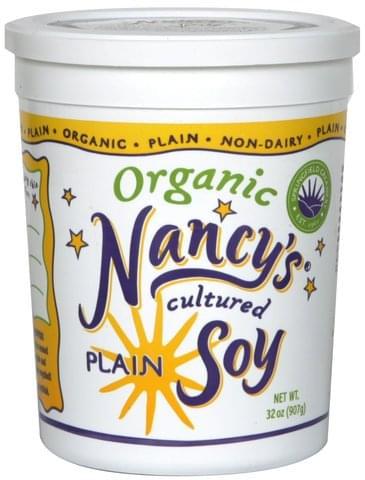 Nancys Plain Cultured Soy - 32 oz