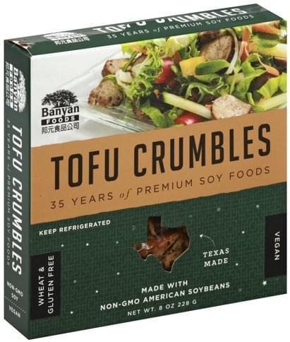 Banyan Foods Tofu Crumbles - 8 oz