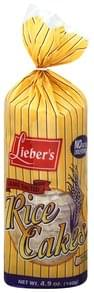 Liebers Rice Cakes Sesame, Salted