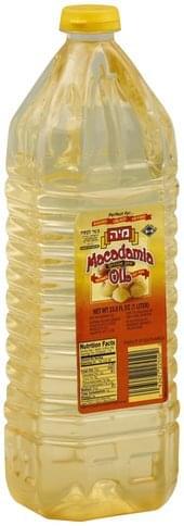Liebers Macadamia Oil - 33.8 oz