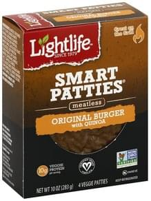 Lightlife Veggie Patties Meatless, Original Burger with Quinoa